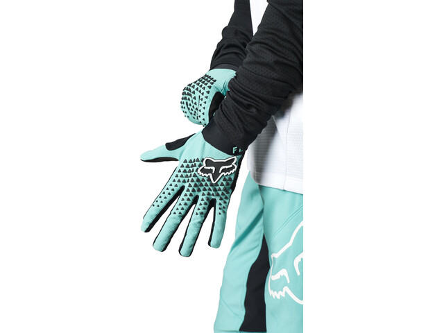 Fox Defend Handschuhe Damen teal